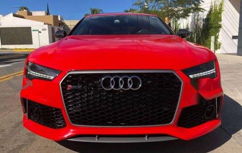 Vendo un Audi RS7 impecable