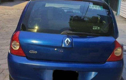 Urge!! Un excelente Renault Clio 2005 Manual vendido a un precio increíblemente barato en Ecatepec de Morelos