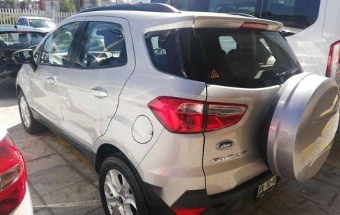 No te pierdas un excelente Ford EcoSport 2017 Automático en Guadalajara