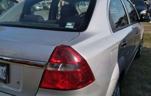 No te pierdas un excelente Chevrolet Aveo 2012 Manual en Guadalajara