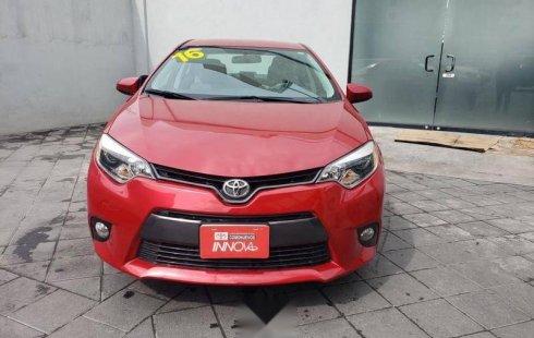 Precio de Toyota Corolla 2016
