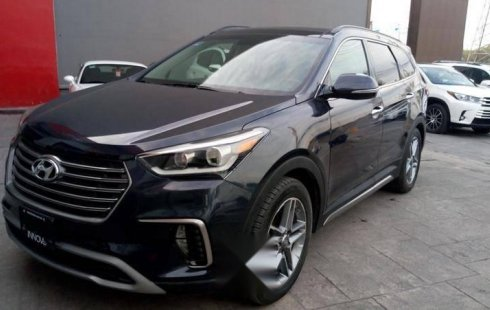 Hyundai Santa Fe impecable en Monterrey más barato imposible