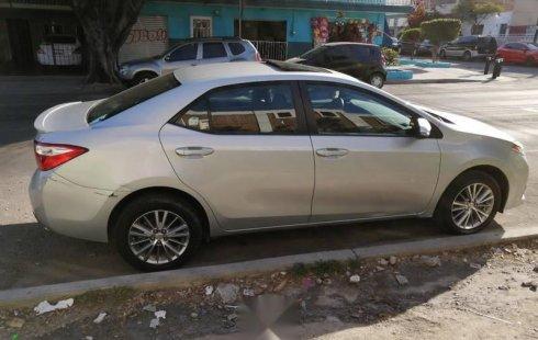 No te pierdas un excelente Toyota Corolla 2015 Automático en Zapopan