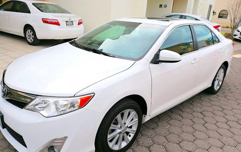 TOYOTA CAMRY 2012 XLE BLANCO, 4 CIL, 2.5 L, PERFECTAS COND. SERV. AGENCIA, PARTICULAR