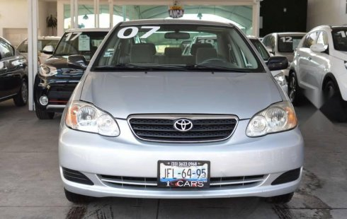 Urge!! Un excelente Toyota Corolla 2007 Manual vendido a un precio increíblemente barato en Guadalajara