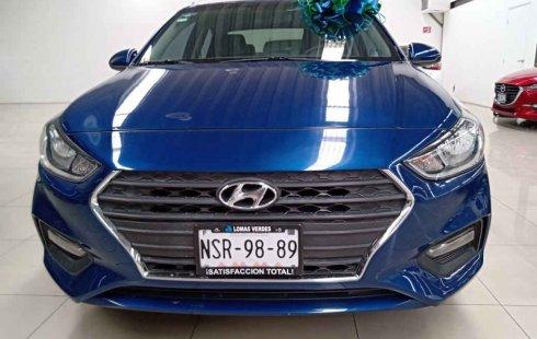 Un carro Hyundai Accent 2018 en México State
