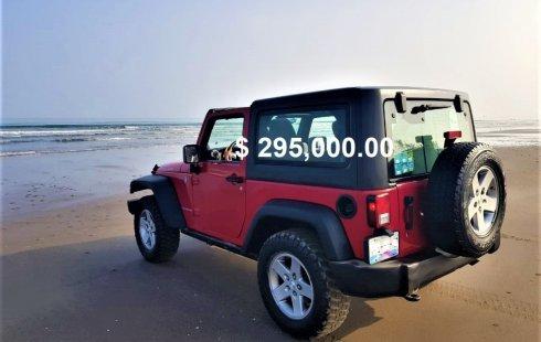 Tengo que vender mi querido Jeep Wrangler 2012