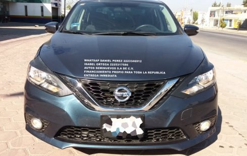Impecable Sentra 2017 Puebla