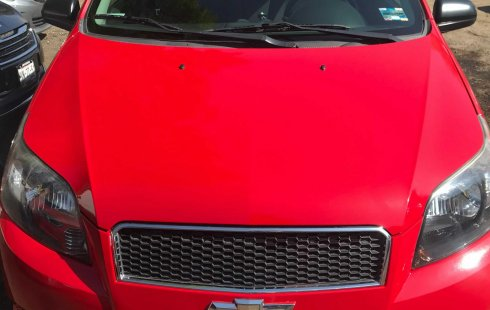 Chevrolet Aveo LT 2014 Rojo OFERTA