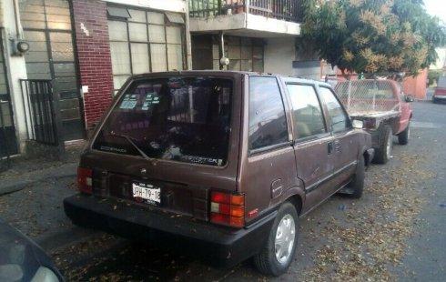 Carro Nissan Ichi van 1987 en buen estadode único propietario en excelente estado