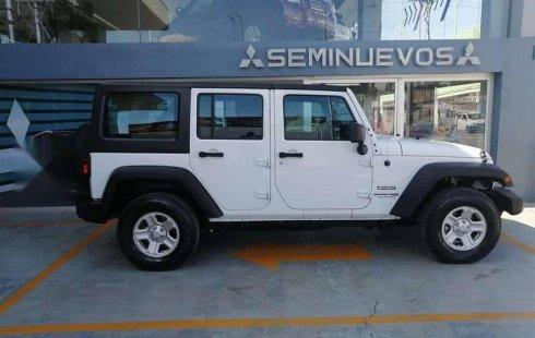 Jeep Wrangler 2018 usado en Pachuca de Soto