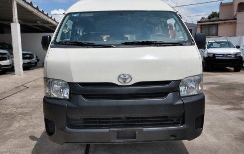 Urge!! Un excelente Toyota Hiace 2018 Manual vendido a un precio increíblemente barato en Puebla