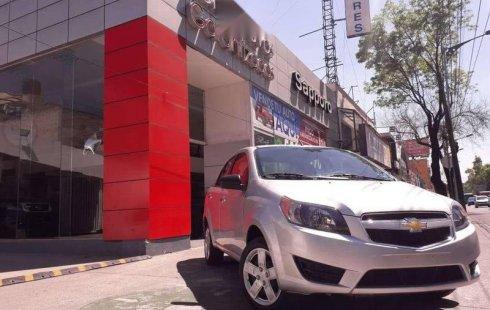 Chevrolet Aveo 2018 usado en Coyoacán