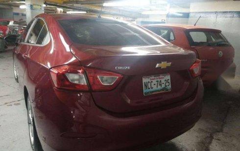 En venta un Chevrolet Cruze 2018 Manual muy bien cuidado