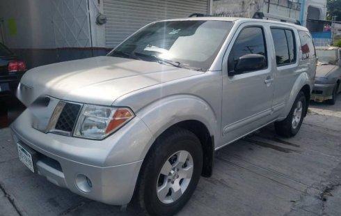 Quiero vender urgentemente mi auto Nissan Pathfinder 2007 muy bien estado