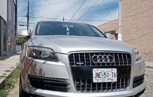 Audi Q7 impecable en Zapopan más barato imposible