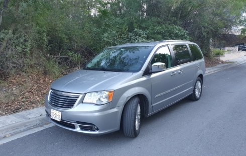 Town And Contry Limited Piel 2015 Chrysler Impecable!!