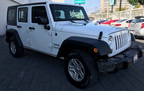 Jeep Wrangler 2018 usado en Guadalajara
