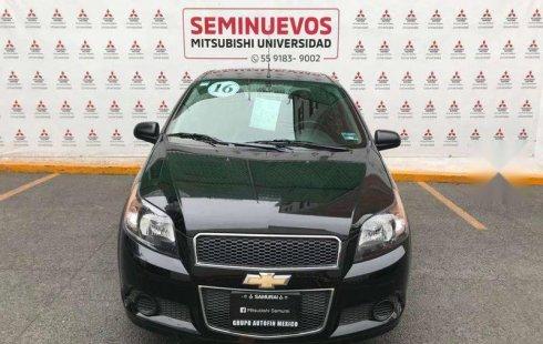 En venta un Chevrolet Aveo 2016 Automático muy bien cuidado