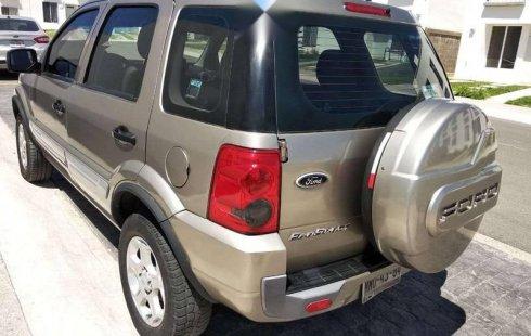 No te pierdas un excelente Ford EcoSport 2011 Manual en Querétaro