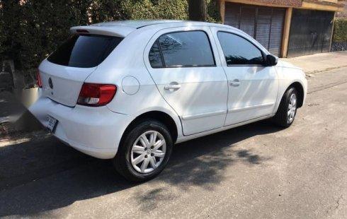 Volkswagen Gol 2013 usado en Naucalpan de Juárez