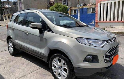 Urge!! Un excelente Ford EcoSport 2014 Automático vendido a un precio increíblemente barato en Iztapalapa
