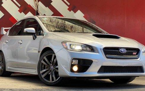 Quiero vender inmediatamente mi auto Subaru WRX 2017