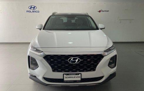 Hyundai Santa Fe 2020 SUV Blanco