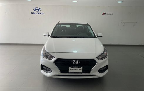 Hyundai Accent 2020 Sedán Blanco