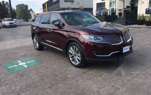En venta un Lincoln MKX 2017 Automático en excelente condición