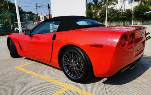 Chevrolet Corvette A Convertible At