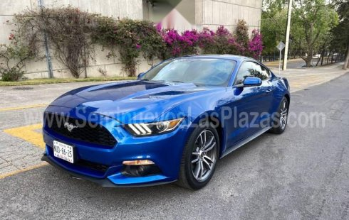 Ford Mustang 2017 2.3 Ecoboost piel GPS SYNC nuevo
