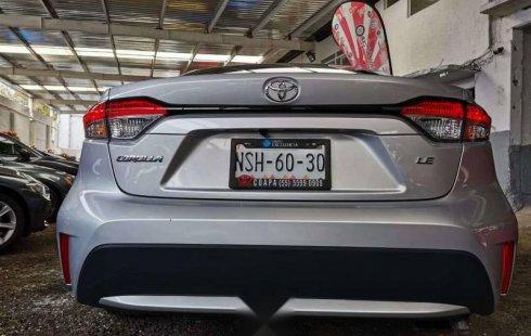 Toyota Corolla LE 2020 Automatico Nuevo Con Tan So