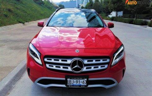Mercedes-Benz GLA 2019 Rojo 200 CGI L4 IMP AUT 4 ABS CA CE PIEL CD CQ CB ¡VEN POR TU AUTO!