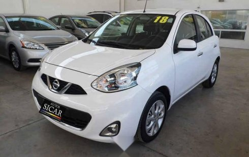 Nissan March 2018 5p Advance L4/1.6 Aut Navi