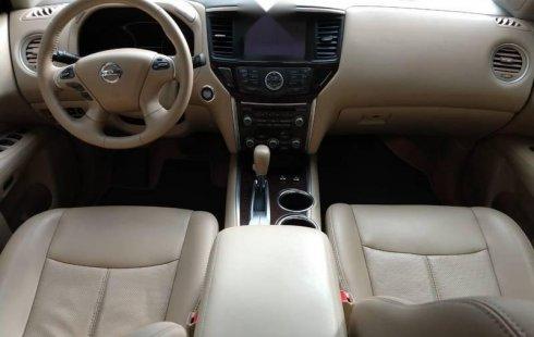 Nissan Pathfinder Exclusive Aut 2015 Seminueva
