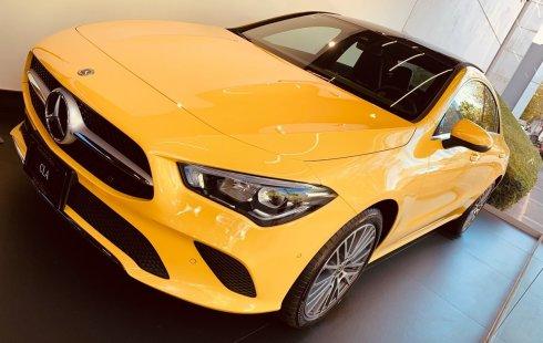 Mercedes Benz Clase Cla 200 Progresive 2020 Amarillo