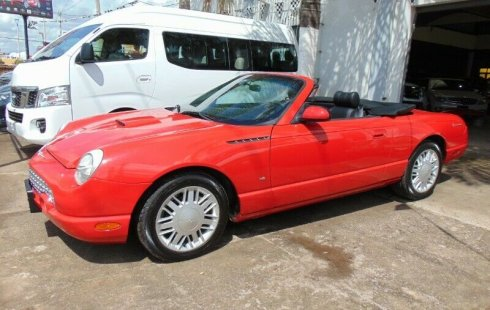 FORD THUNDERBIRD 2003 CONVERTIBLE