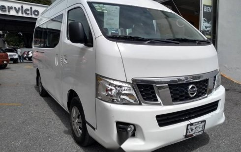 Nissan NV300 Urvan 15 pasajeros Amplia 2017 Manual