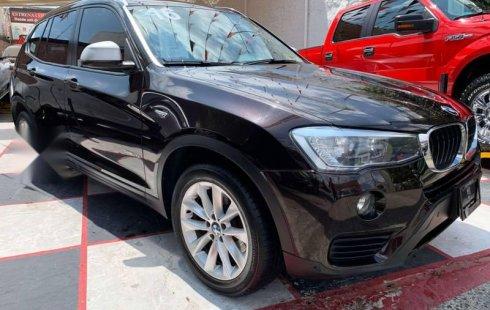 BMW X3 S-DRIVE 2.0i 2016