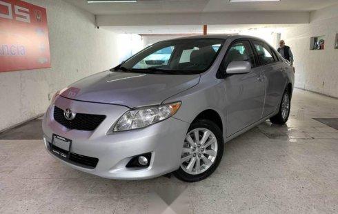 Toyota Corolla xle at súper manejo factura origina
