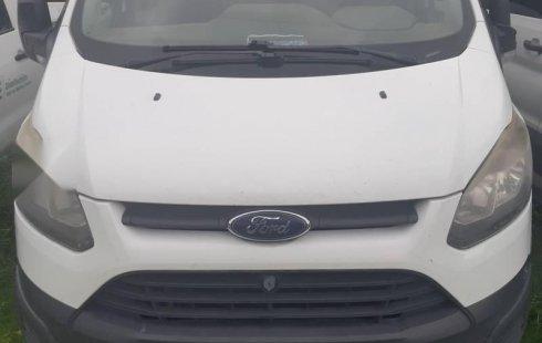 Ford Transit 2014 2.2 Pasajeros Larga Custom Mt