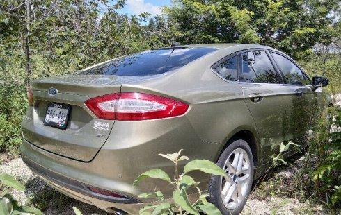 Ofrezco Ford FUSION SE 2013 motor 2.5L 175HP totalmente equipado, color verde olivo