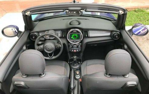 MINI COOPER CONVERTIBLE AUT 1.5L AIR BAG ABS PANTALLA CAR PLAY LINEA NUEVA 2019 LUCES LED IMPECABLE