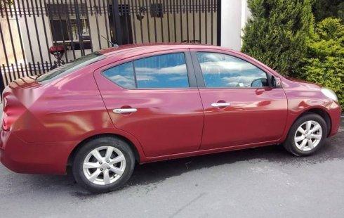 Nissan Versa Advance 2012 automático, único dueño,