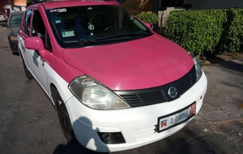 V/CTiida taxi 2012 todo pagado con renta de placas
