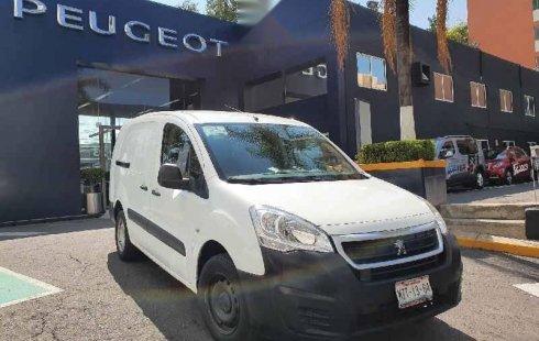 Peugeot Partner 2017 4p Maxi Nivel 2 L4/1.6/T D