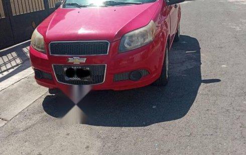 Chevrolet Aveo 2013 factura original único dueño