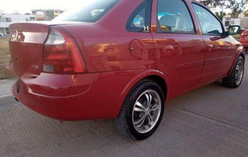Chevrolet Corsa aut mod 2005 alarma D/H Rines de Alum Potos