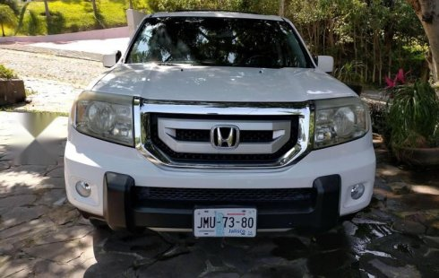 Honda Pilot de lujo 4X4 y piel.